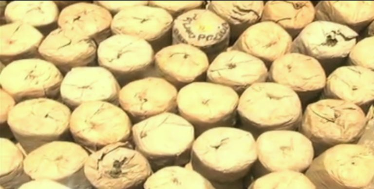 Police intercept Ksh. 1.5 Million bhang transported as omena