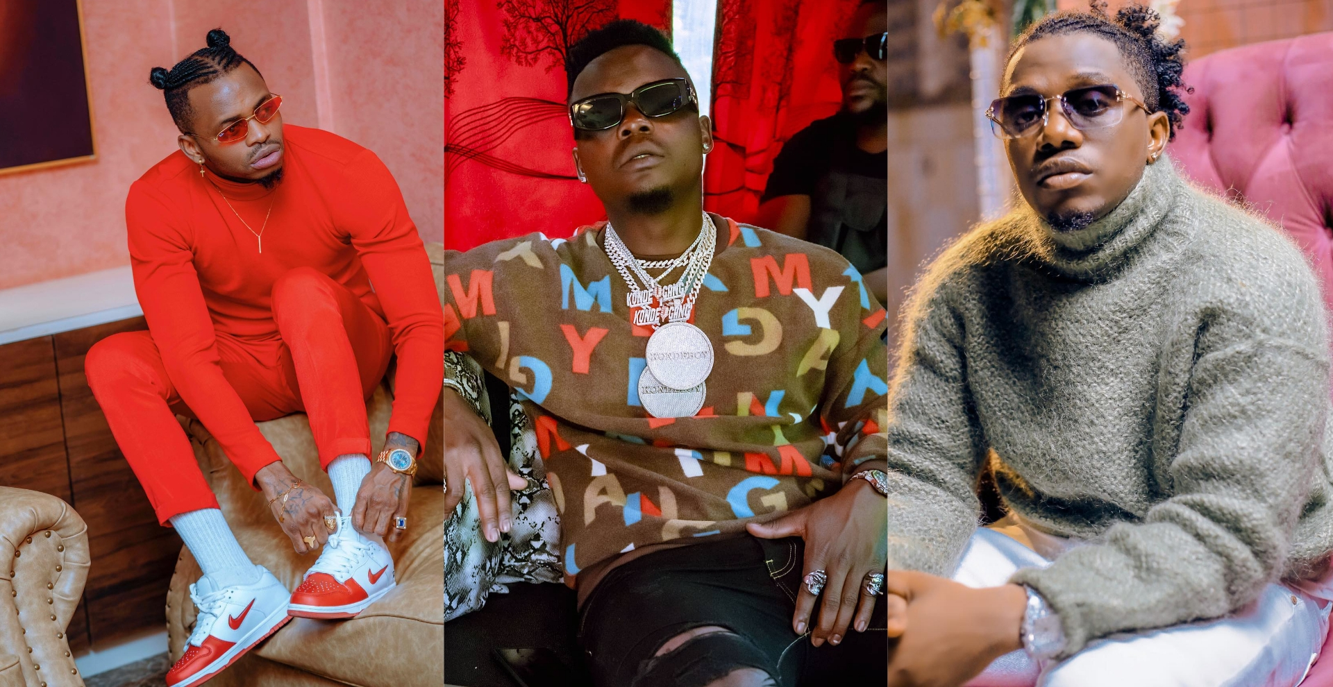 Diamond Lectures Harmonize and Rayvanny Over Their Beef