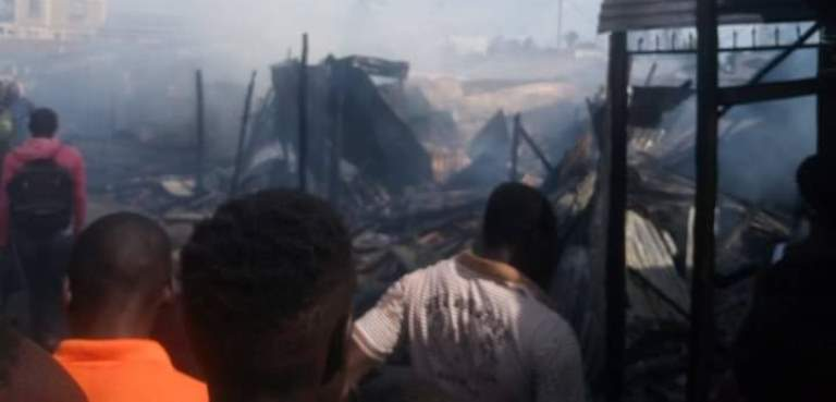 Property worth thousands of shillings razed down in Nyamasaria fire