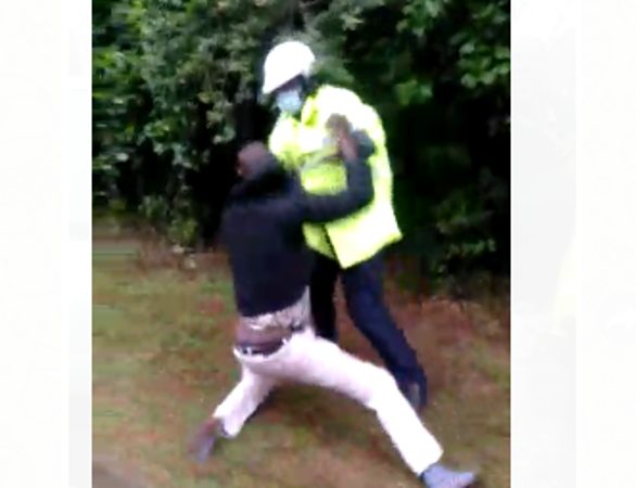 Police officer arrested for assaulting fellow cop